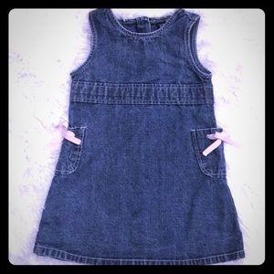 EUC Gap Denim Dress (2Y)